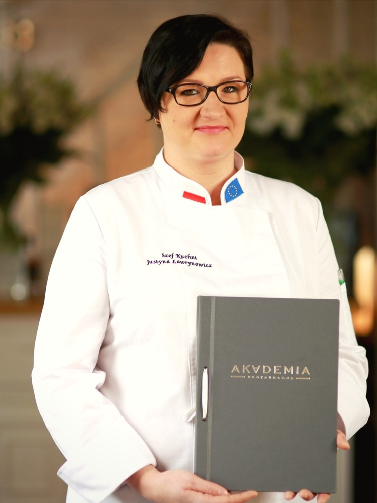 gdzie dobrze zjeść w Warszawie - szef kuchni, Justyna Ławrynowicz