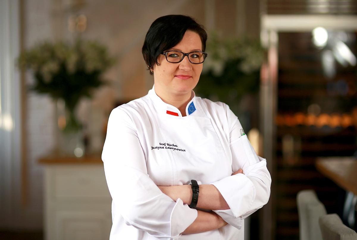 Szef kuchni restauracji Akademia - Justyna Ławrynowicz