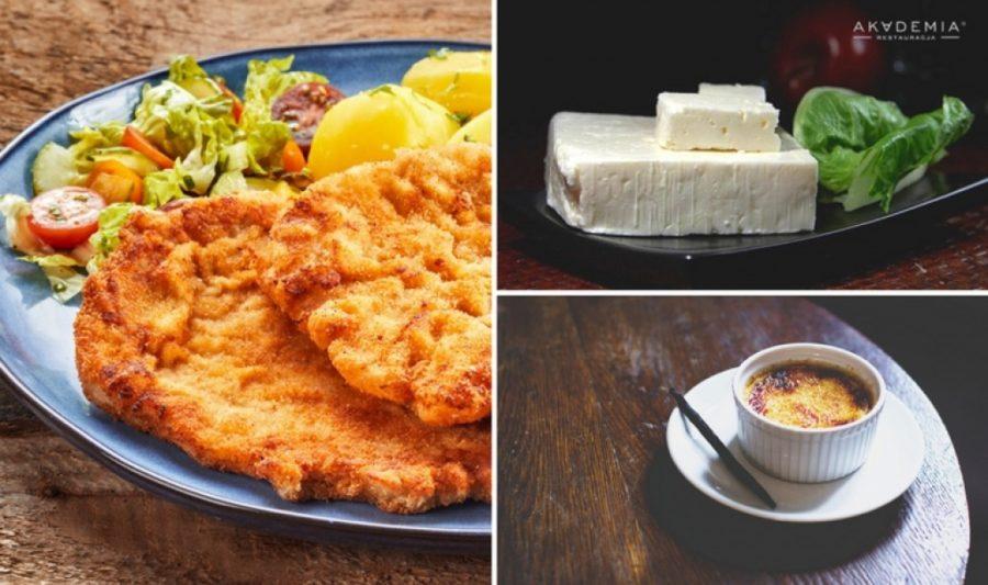 Kotlet schabowy, gulasz i crème brûlée czyli co jedzą Europejczycy!
