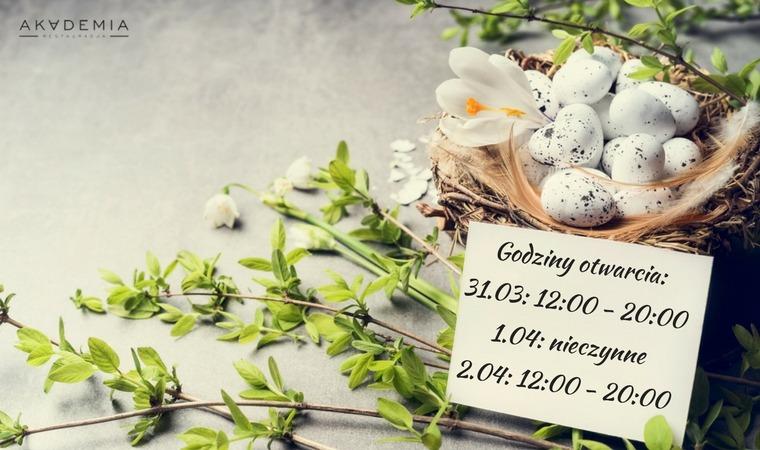 Życzenia świąteczne oraz godziny pracy w okresie wielkanocnym
