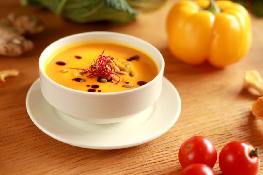Zupa dyniowa - Restauracja Akademia