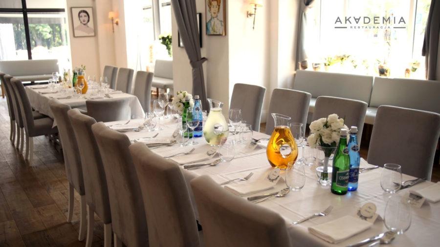 Przyjęcie weselne w Restauracji Akademia