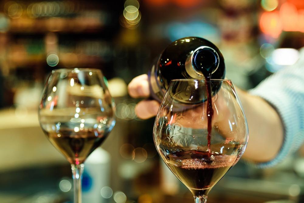 wino restauracj